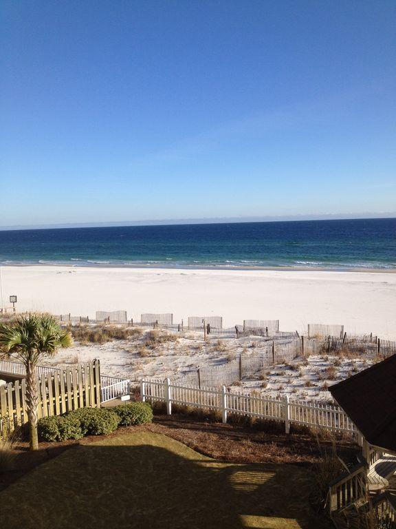 Beautiful view of White sandy beaches at Romar Tower
