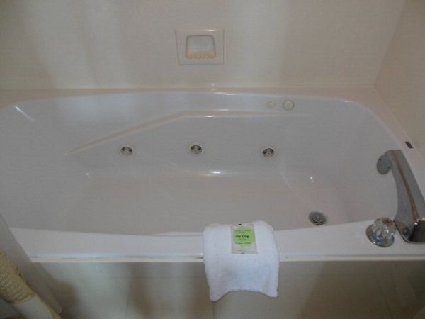 Jetted Tub in Master Bathroom