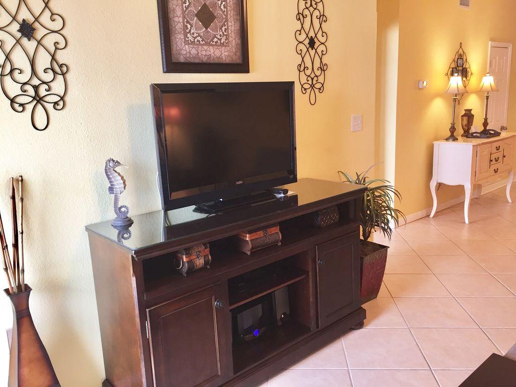 Livingroom TV at Tidewater