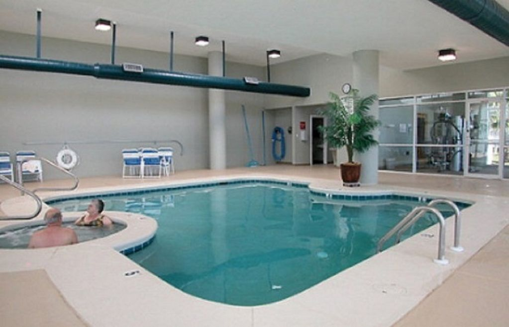Tidewater indoor pool and hot tub