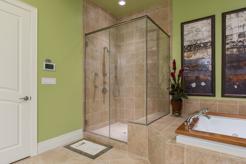 West Master Bath Walk-In Shower