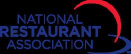 National Restaurant Association text Logo
