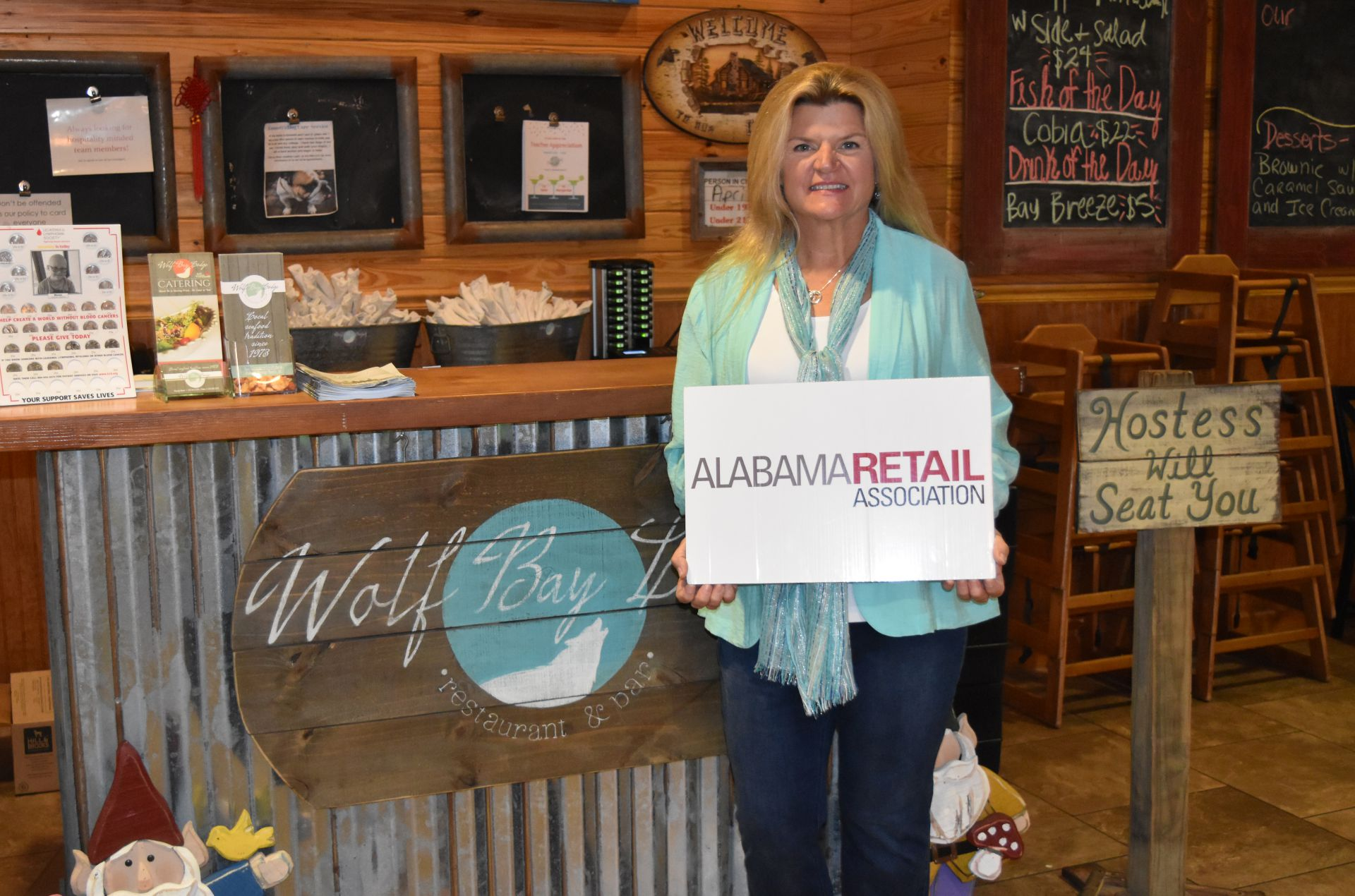 WOLF BAY RESTAURANT EARNS SILVER RETAILER OF THE YEAR TITLE