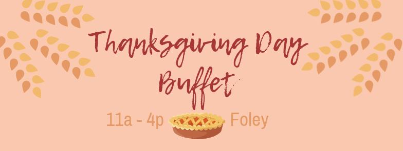 Thanksgiving Day Buffet Wolf Bay Foley