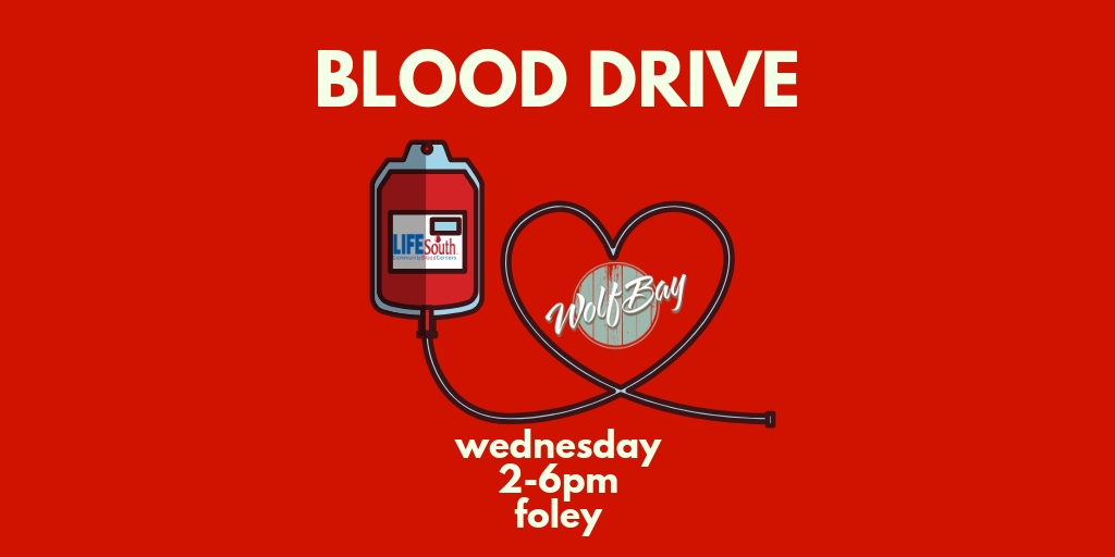 Blood Drive at Wolf Bay