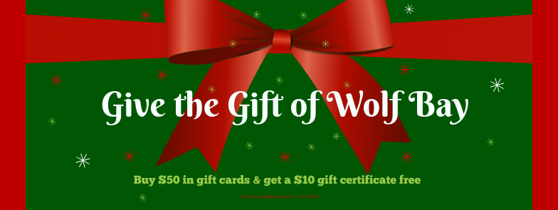 Wolf Bay Gift Card Promo