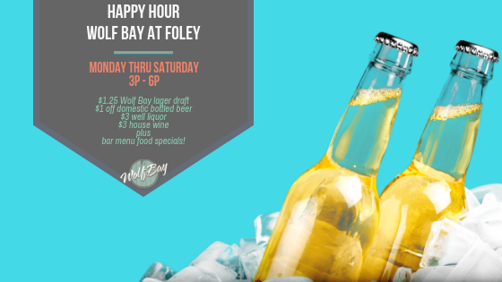Happy Hour Specials - Foley