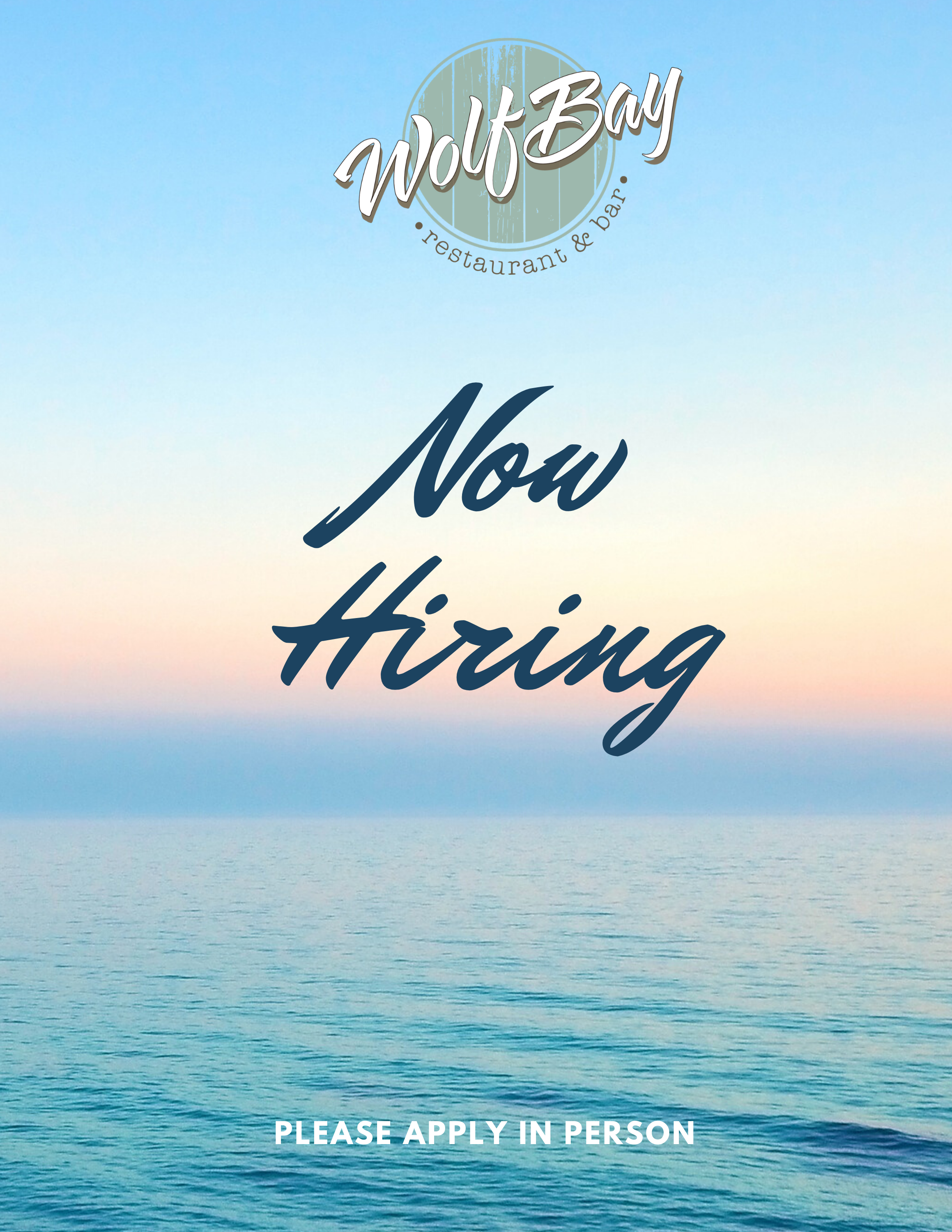 Hiring at Foley & Orange Beach Locations