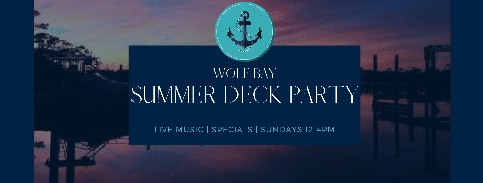Summer Sunday Deck Parties at Wolf Bay Orange Beach