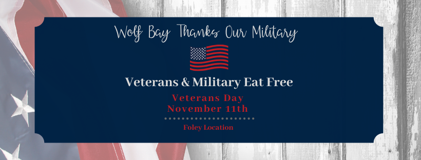Veterans Day at Wolf Bay Foley
