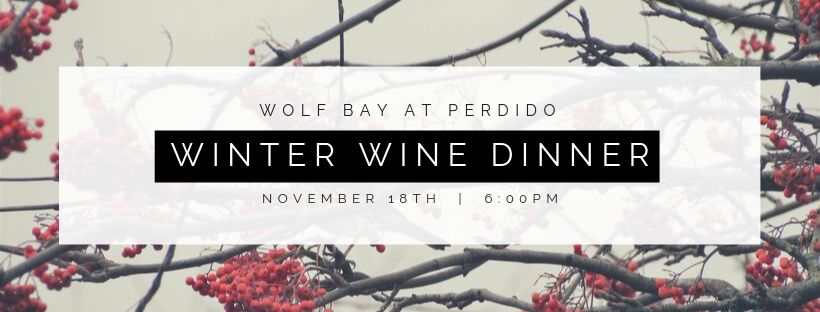 Winter Wine Dinner