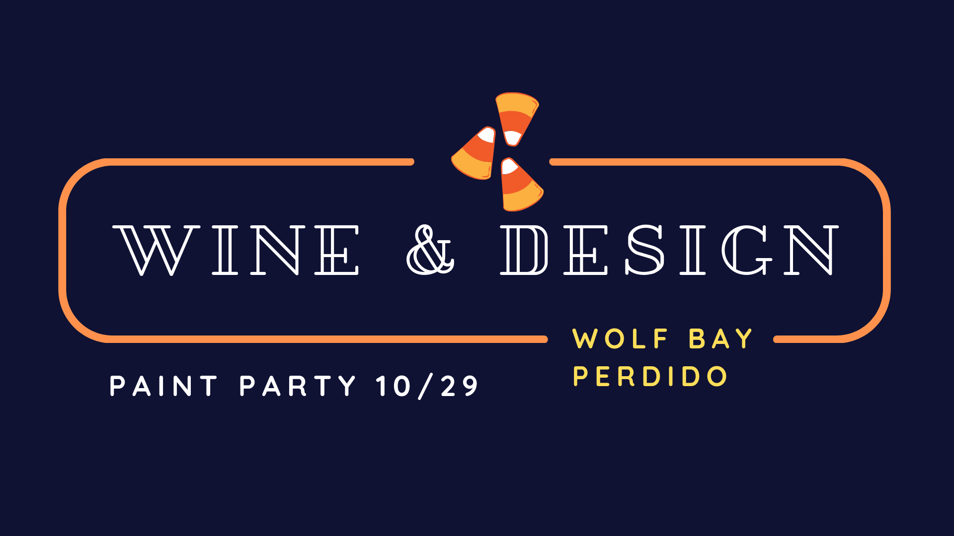 Wine and Design Paint Party at Wolf Bay (Perdido)