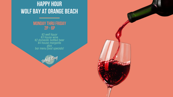 Happy Hour Specials - Orange Beach