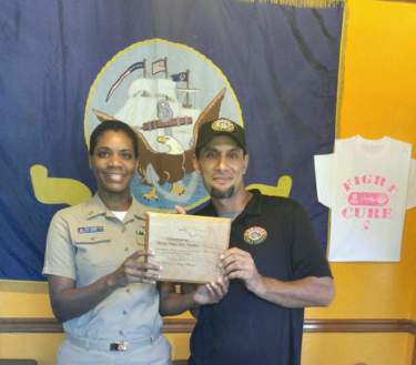 Recognition for Continued Support for the Navy