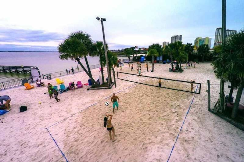 Flounders Beach Volleyball