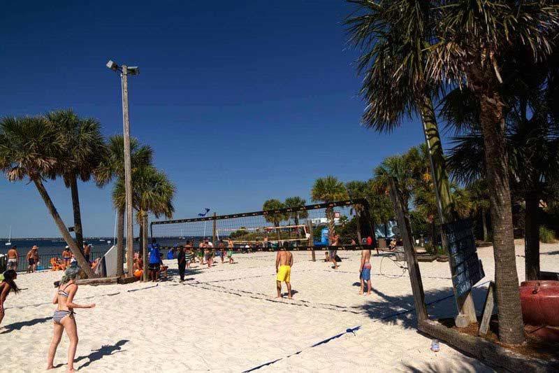 Flounders Beach Volleyball