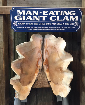 Man Eating staff