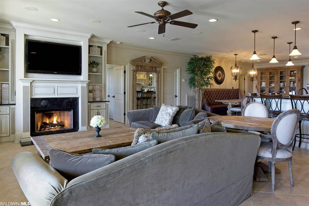 Living Room Overlooking Canal