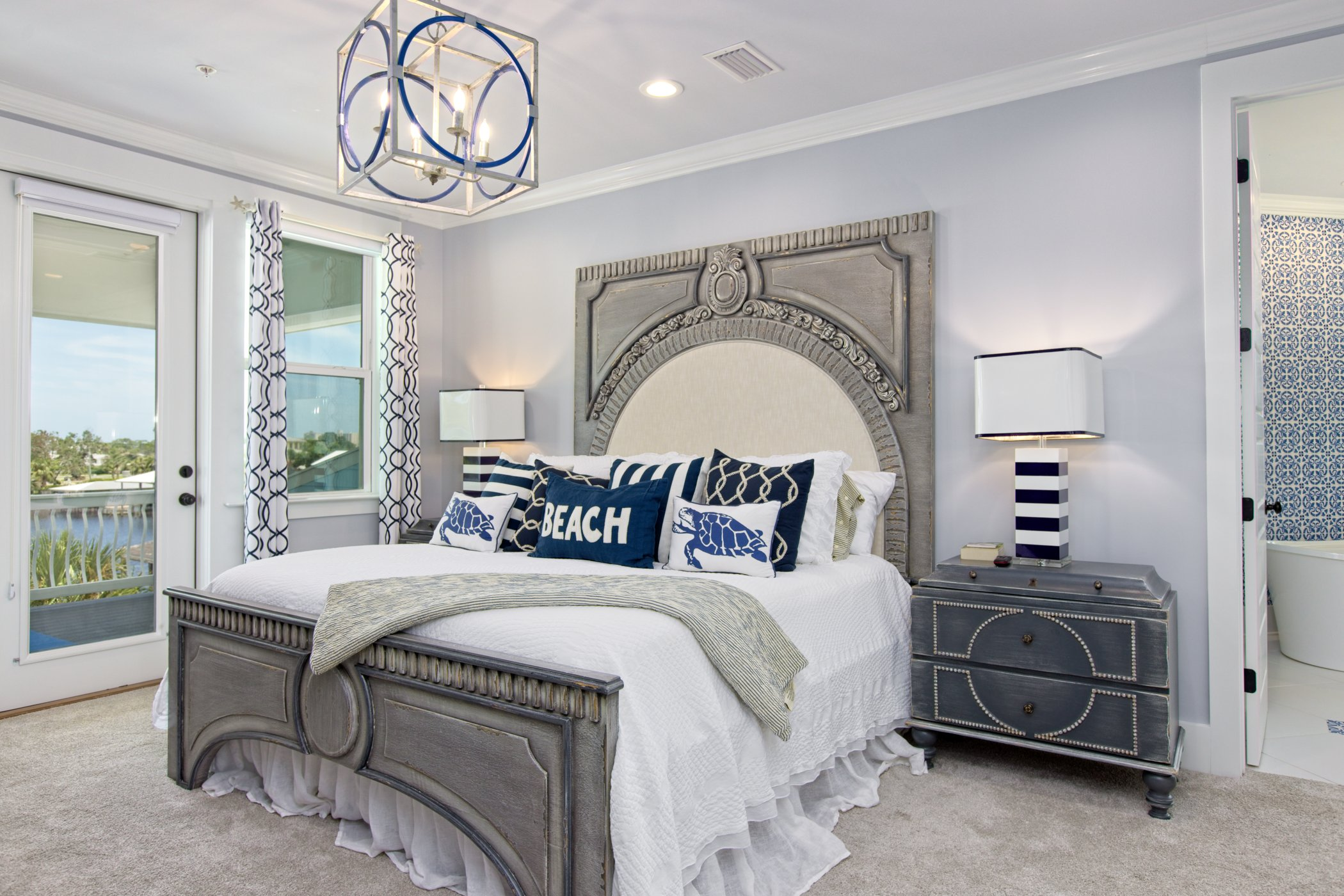 Magnificent Master Bedroom with Balcony access