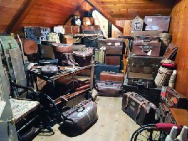 image of a cluttered room