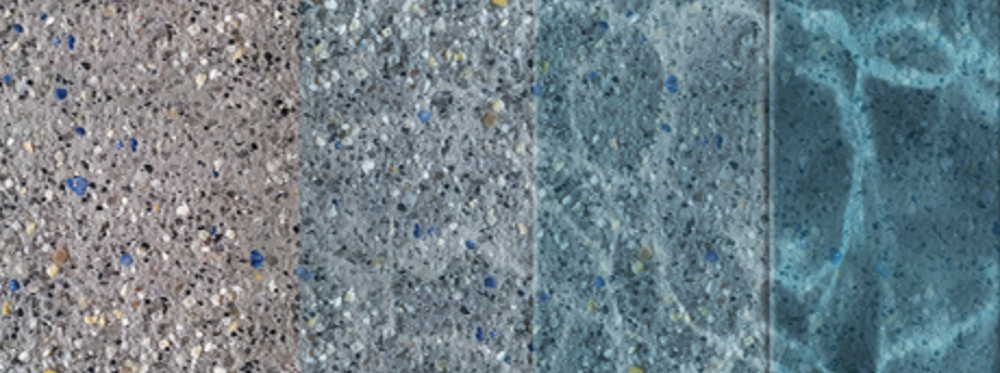 Example of the Granite Pool Finish