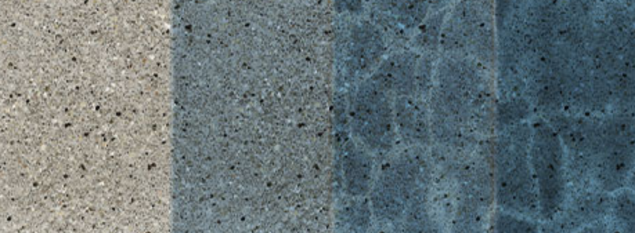 Example of the Harbor Gray Pool Finish