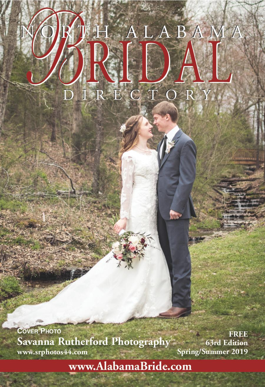 Alabama Bride Area Books North Alabama Spring/Summer 2019