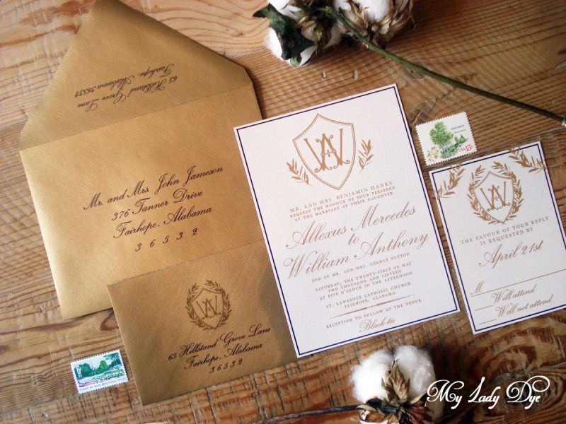 image of an invitation suite