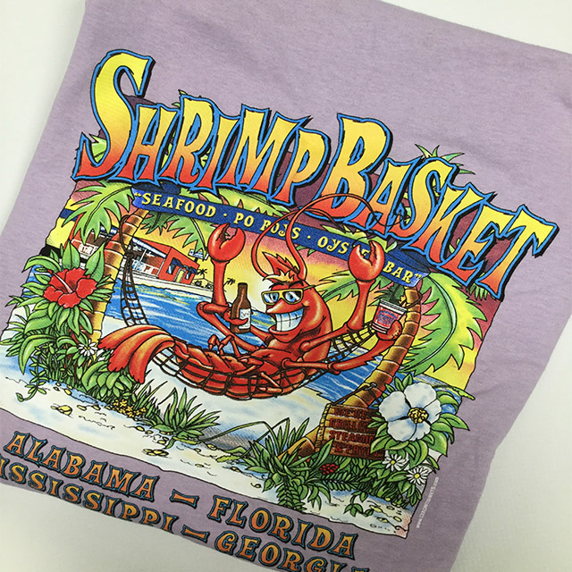 Shrimp Basket Regular T-Shirt - Lavendar
