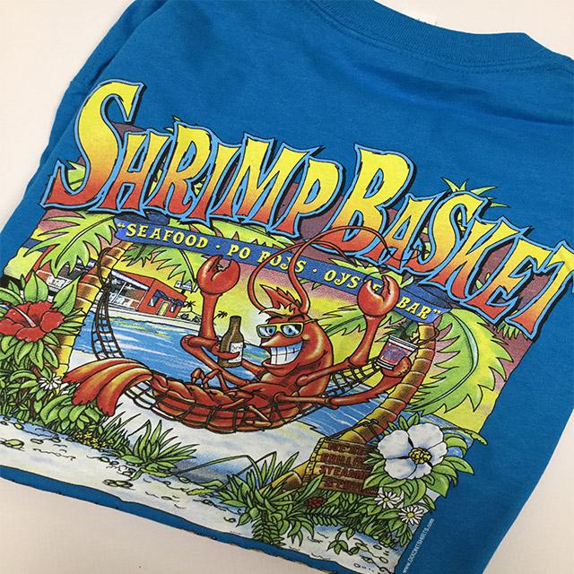 Photo of Shrimp Basket Regular T-Shirt - Ocean Blue