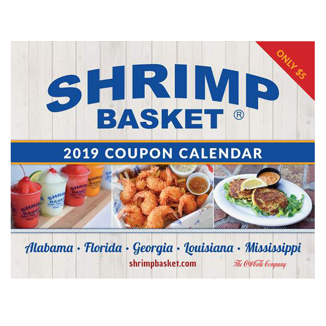 Shrimp Basket 2019 Coupon Calendar