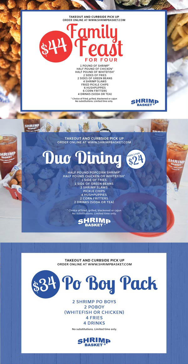 Shrimp Basket Specials