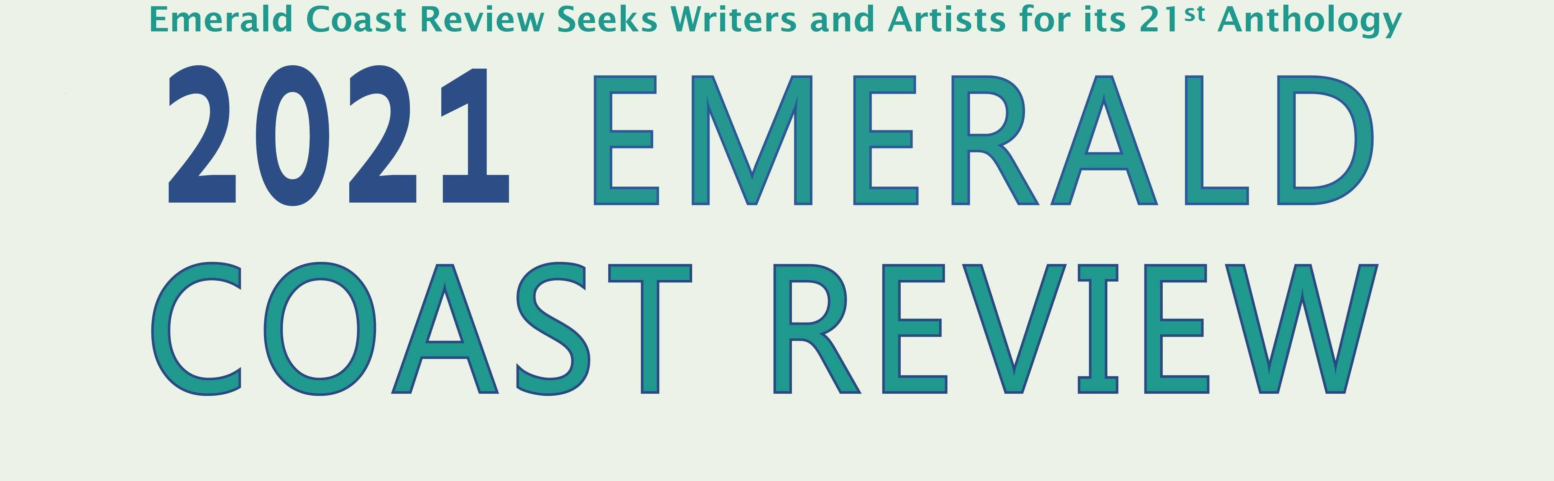 Emerald Coast Review Seeks Writers and Artists for its 21st Anthology