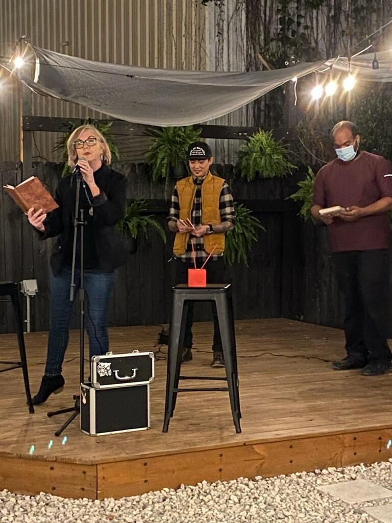 WFLF Members at Haiku Slam Event