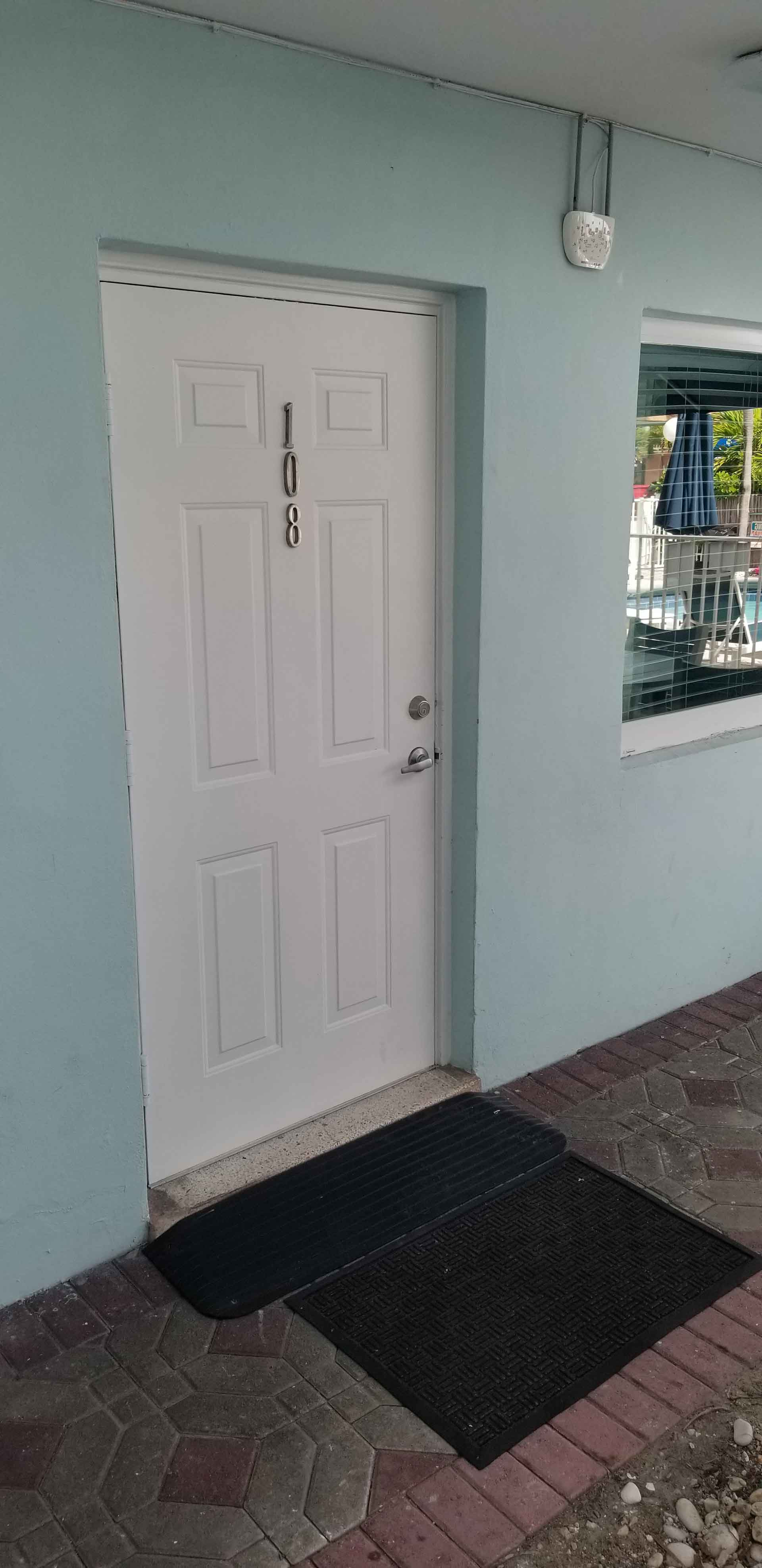 ADA Compliant entry door