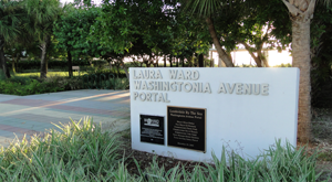 Location image of Laura Ward Washington Ave Beach Portal