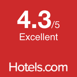 Rated by Hotels.com