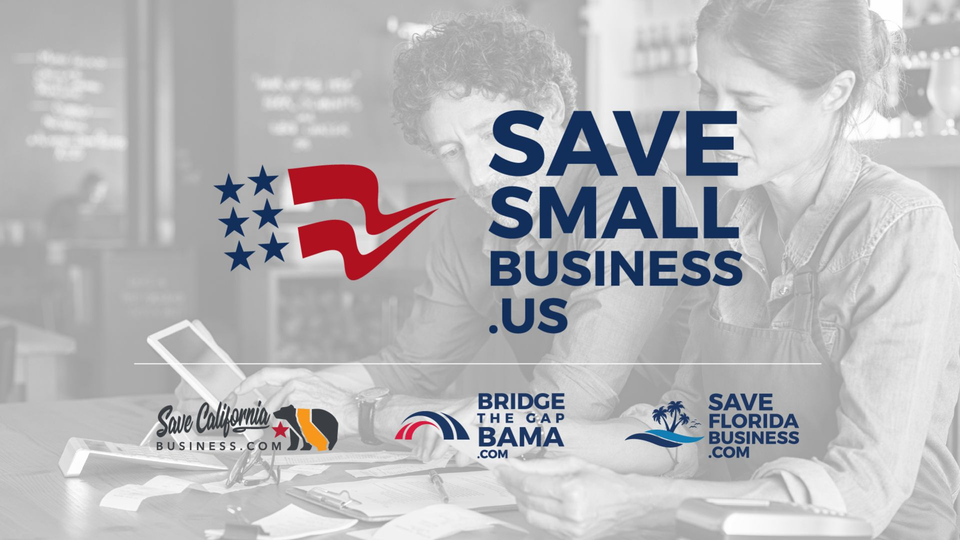Logo for Save Small Business US