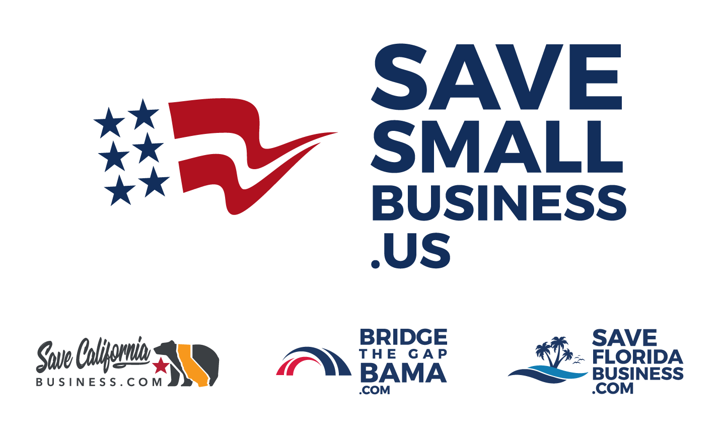 Save Small Business Logo