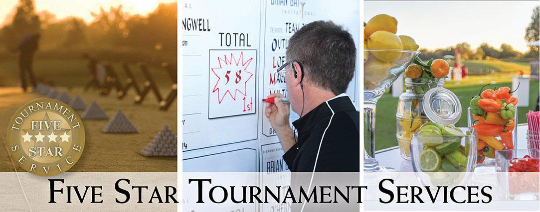 Five Star Tournament Services flyer