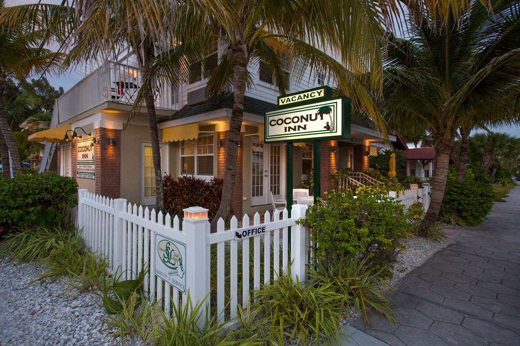 Front of Coconut Inn