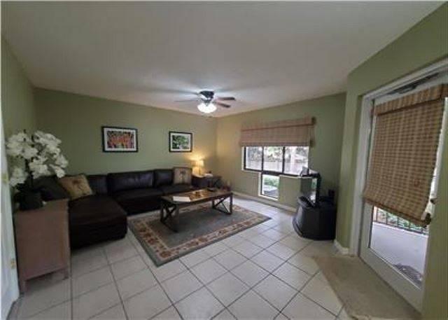 Unit D40 Living Area