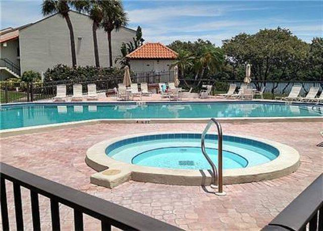 Holiday Island Pool Alternate View