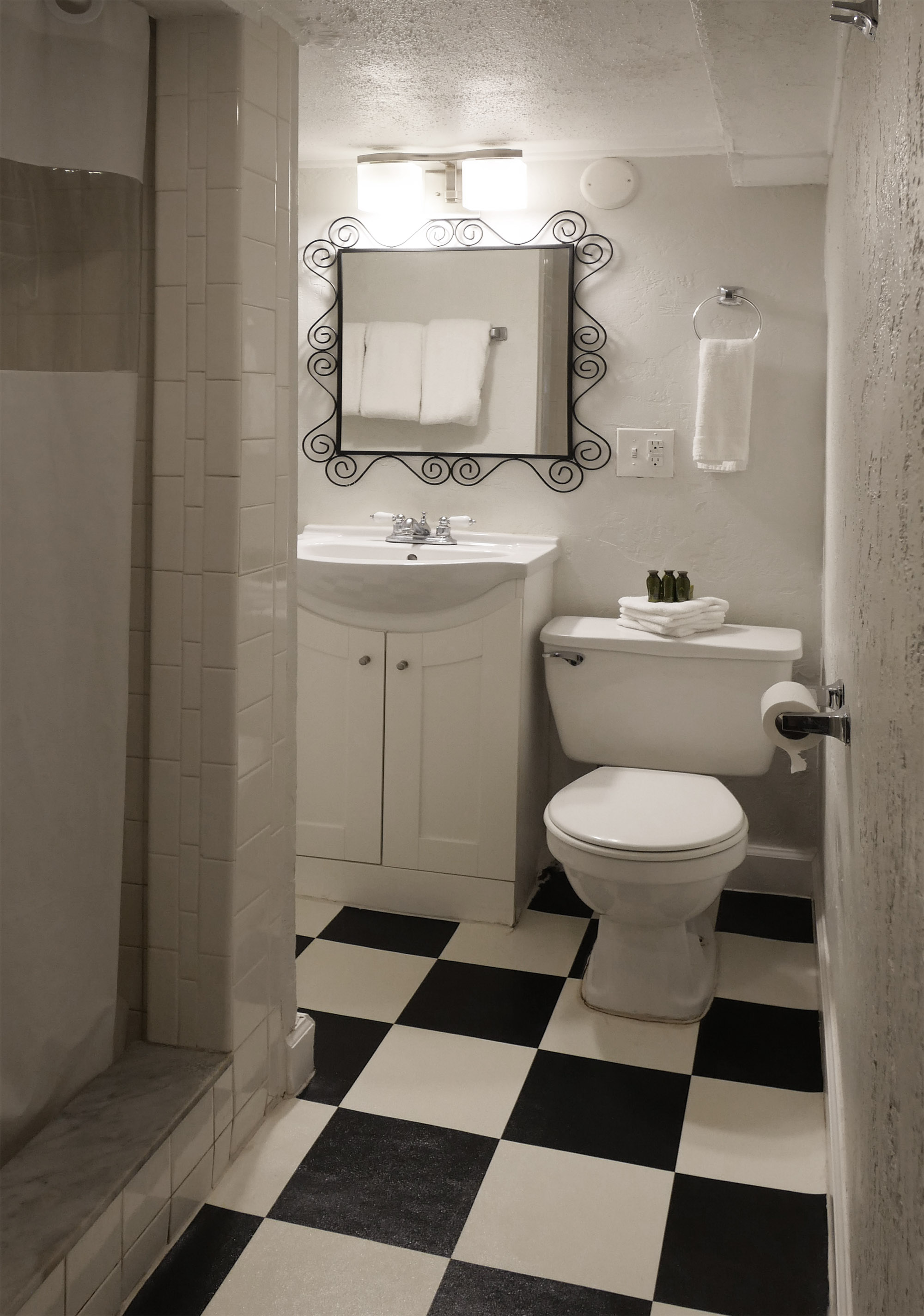 Unit A Bathroom Interior