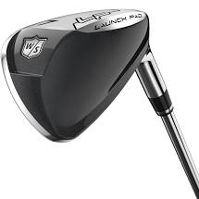 Wilson Launch Pad Irons Mens Graphite R-flex