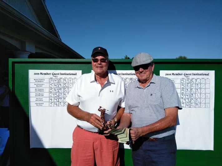 Flight 6 Winners - Overall Champions