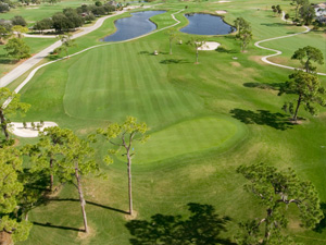 Aerial view of The Palms course