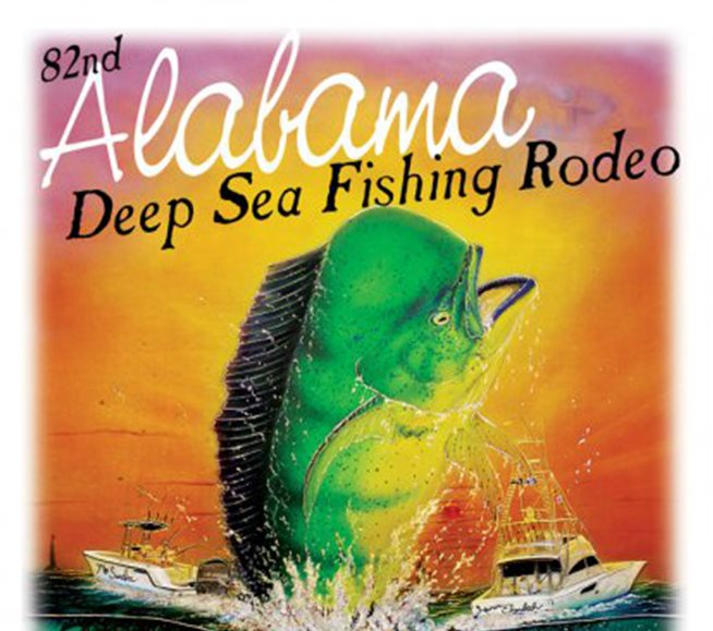 Alabama Deep Sea Fishing Rodeo poster