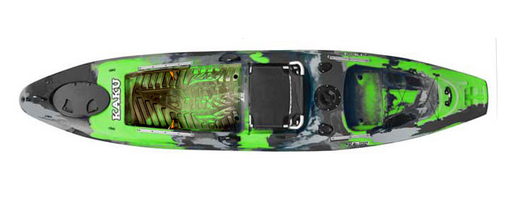Green Kaku Wahoo 12.5 kayak