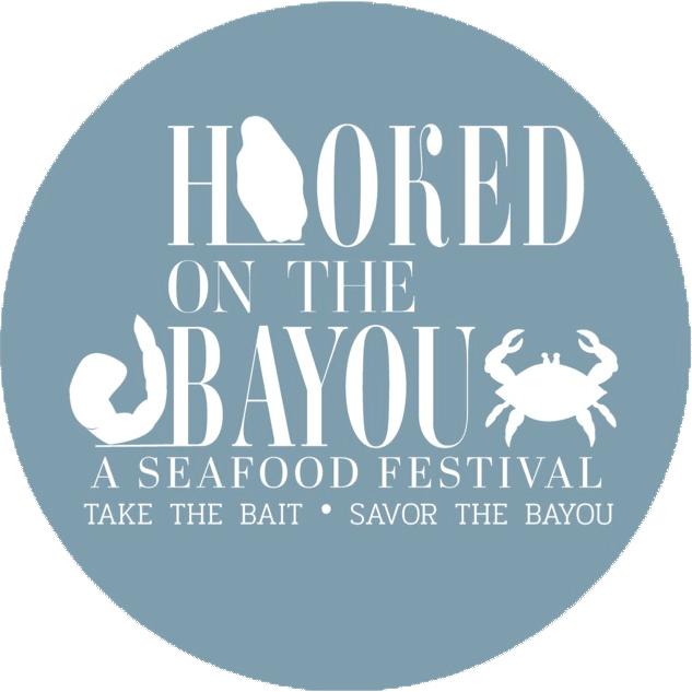hooked on the bayou logo
